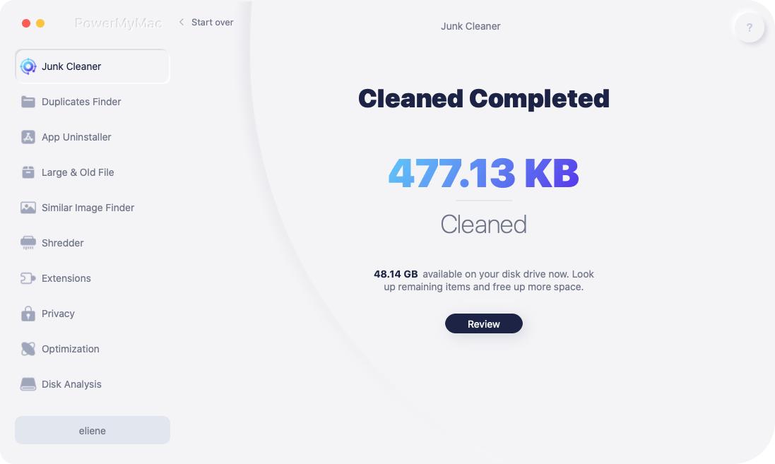 iTunes Junk Clean completato