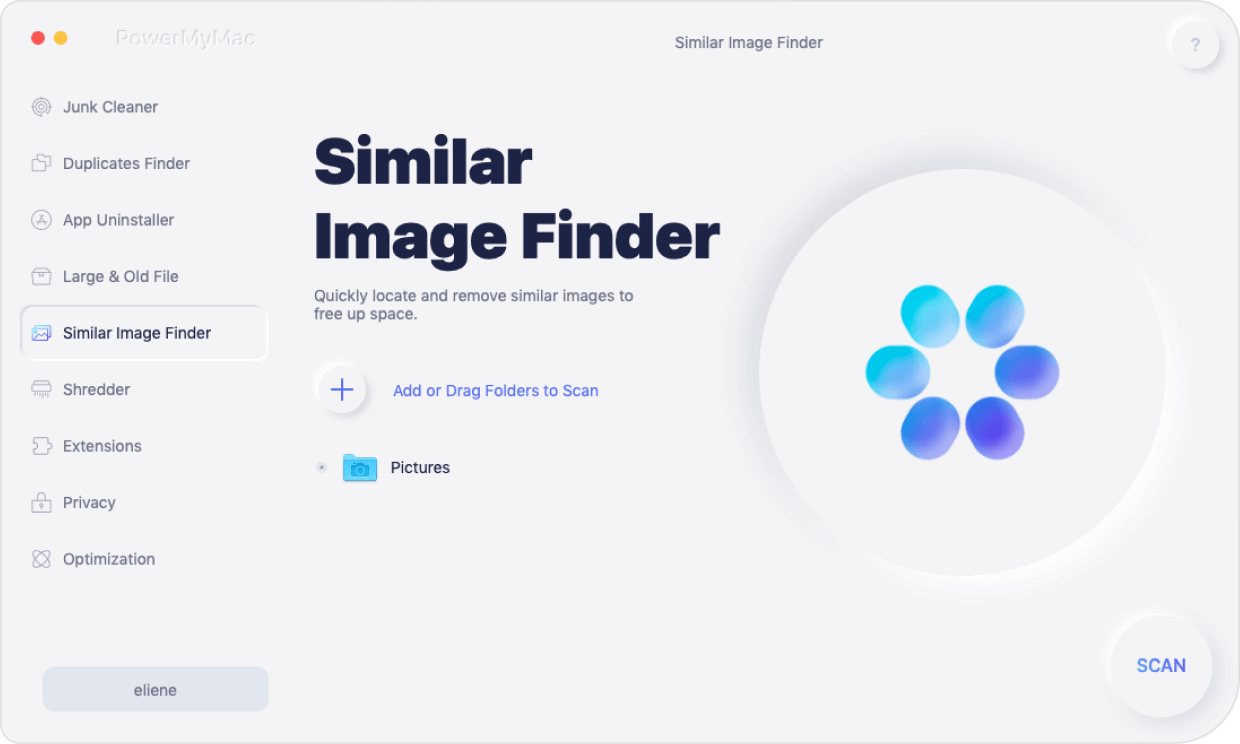 open similar image finder main