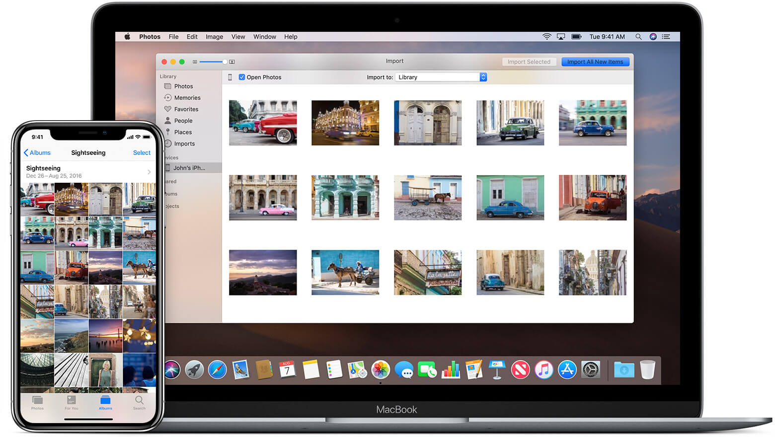 写真を修正する方法iPhoneからMacに効果的にインポートされないアップルガジェット