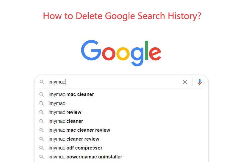 Eliminar el historial de búsqueda de Google