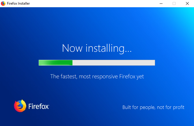 Clean Install Firefox
