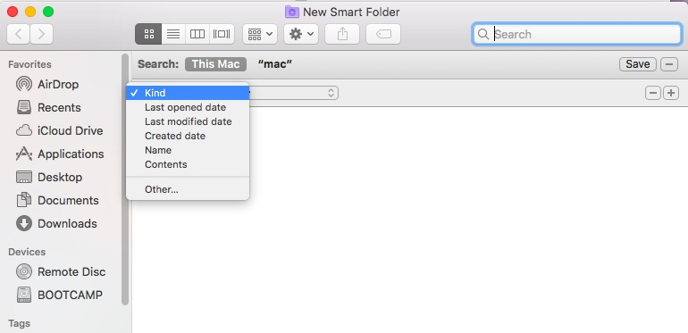 Find Duplicate Files on Mac via Finder