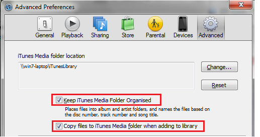 Prevent Any Duplicate Files on iTunes