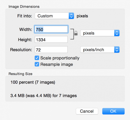 How to Resize An Image on Mac?