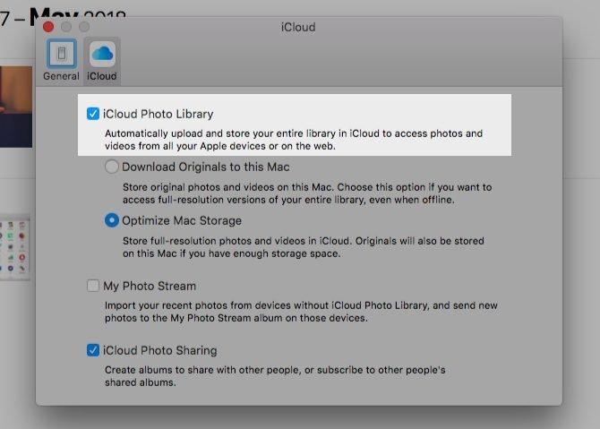 Sincronizar, transferir y usar la biblioteca de fotos de iCloud
