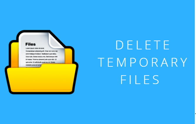 delete temporary files on Mac