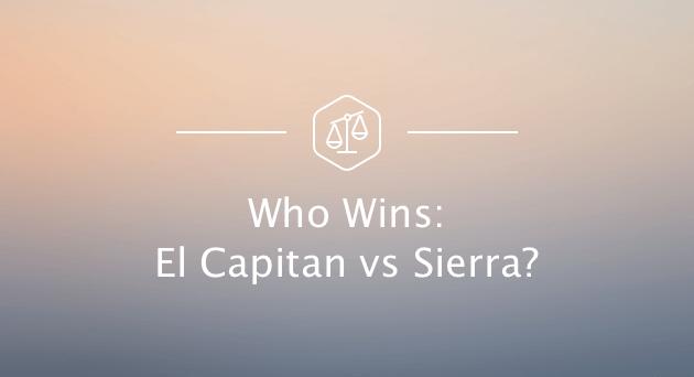El Capitan gegen Sierra