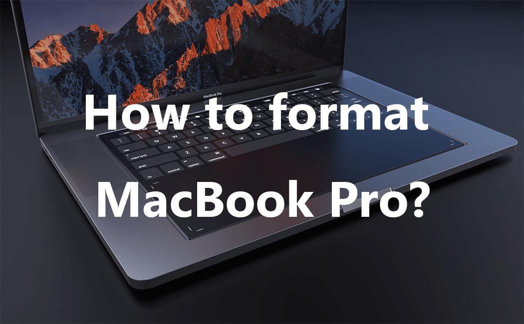 MacBook Proをフォーマットする方法