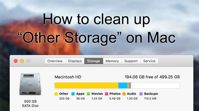 How to Clean up Other Storage