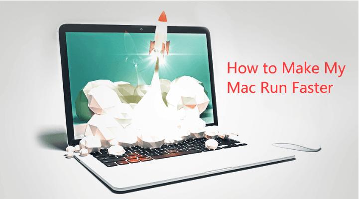 So machen Sie meinen Mac schneller