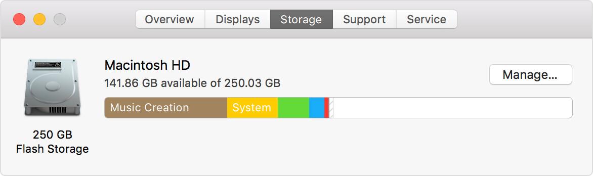 Mac Storage 1