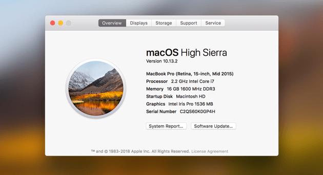 Macos High Sierra Copy