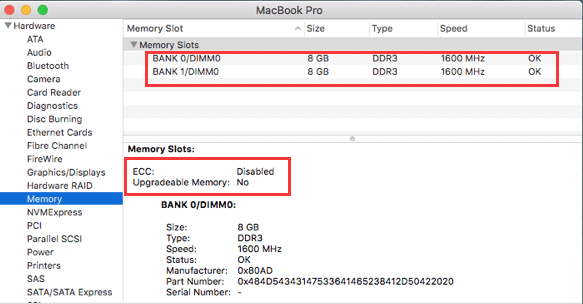Check If You Can Accommodate More RAM on Your Mac