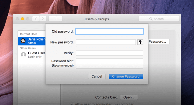 Macのパスワードをリセットする方法?