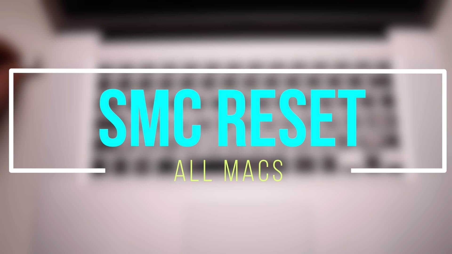 Setzen Sie Mac SMC zurück
