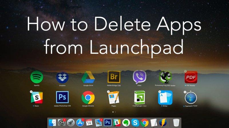 So löschen Sie Apps vom Launchpad