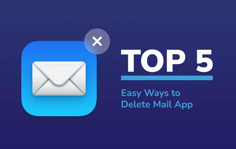 Excluir aplicativo de email no Mac