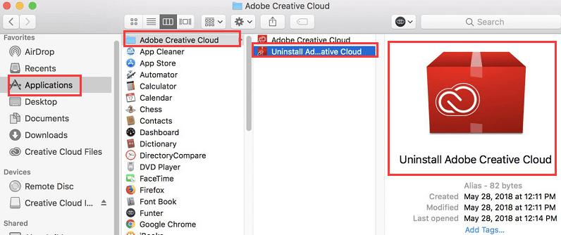 Adobe Creative Cloud를 제거하는 방법