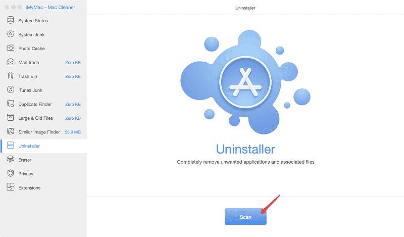 Mac für das Scannen ohne Computer