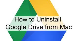Deinstallieren Sie Google Drive
