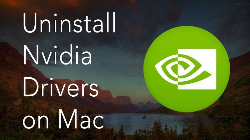 在Mac上卸載Nvidia驅動程序