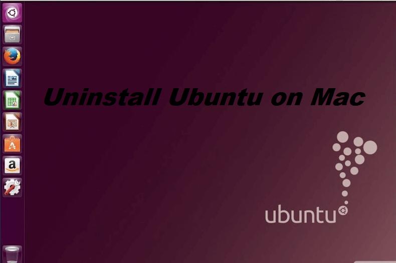 Mac에서 Ubuntu 제거