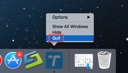 在Mac上卸載Wondershare