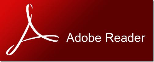 Adobe Reader徽標