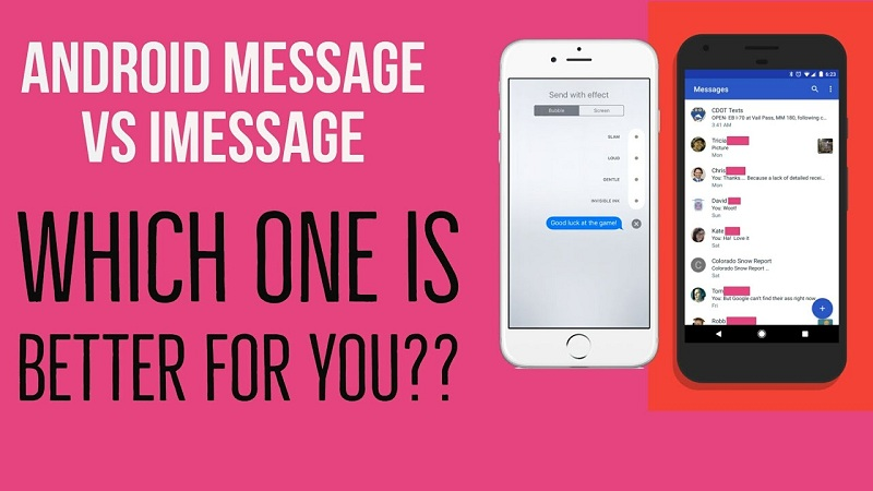 Android Messages Vs Imessage
