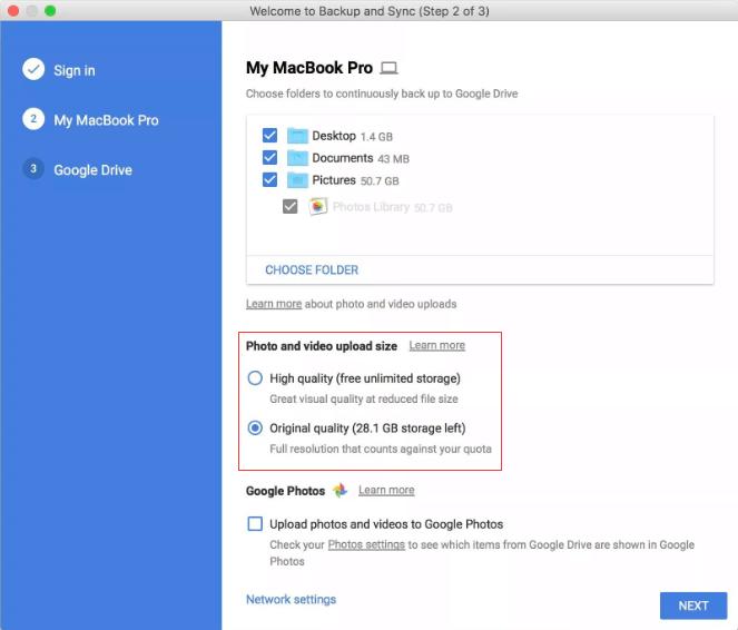 Haga una copia de seguridad de sus fotos con Google Backup And Sync