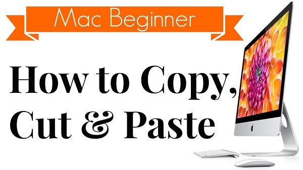 Ejecutar copiar y pegar en Mac
