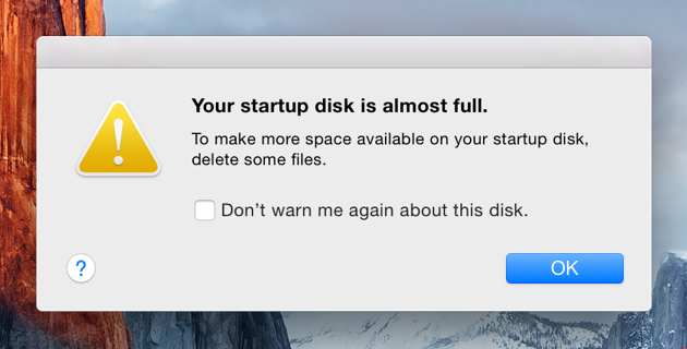 Decrease the High Disk Usage on Mac