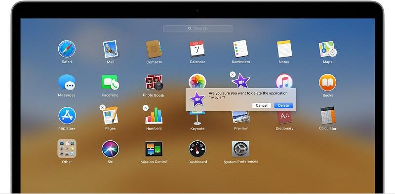 Apps auf dem Mac löschen