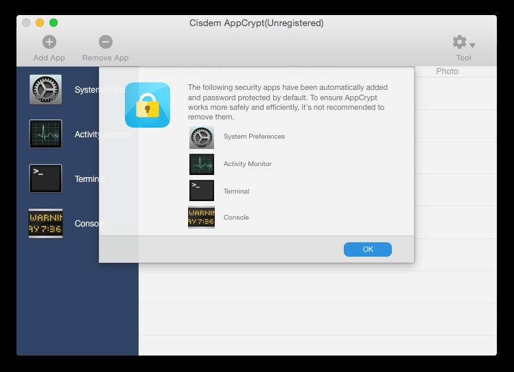 Mac用の暗号化ソフトウェアCisdem