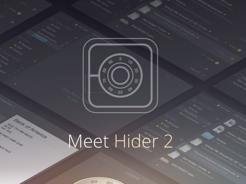 Software de cifrado para Mac Hider