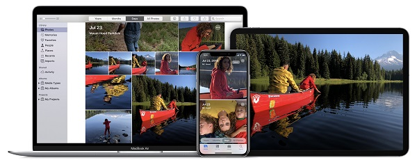 Macですべての写真を検索