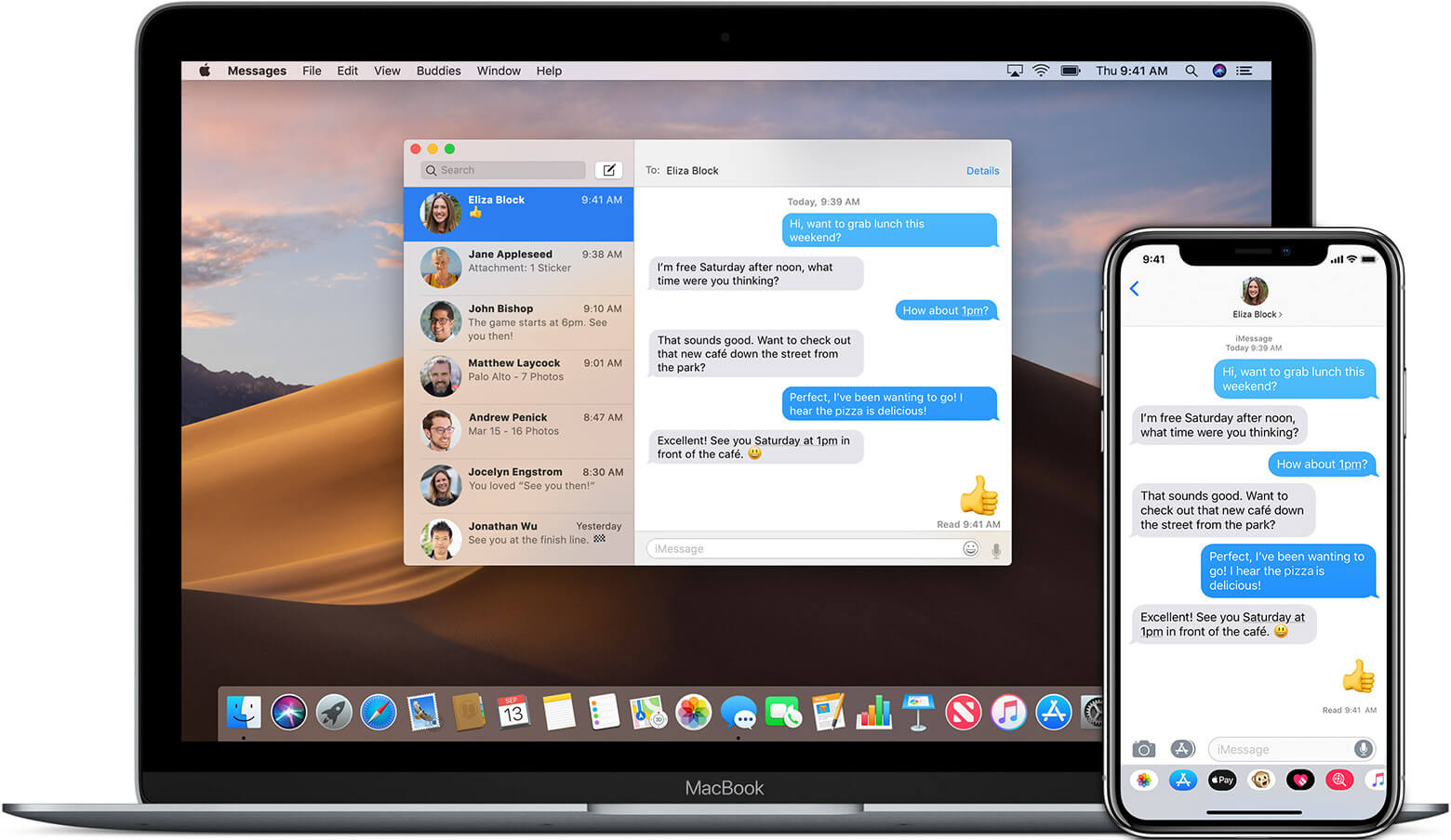 Get Text Message On Mac