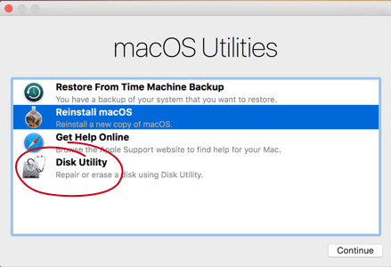 Use la Utilidad de Disco de Mac para Reparar el Disco