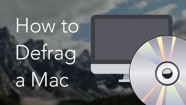 Mac defragmentieren