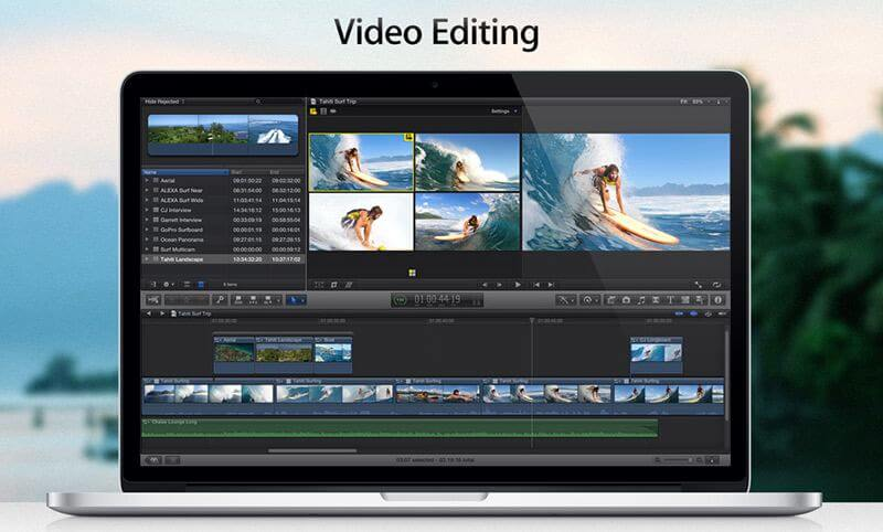 Cómo editar videos en Mac Edición de video