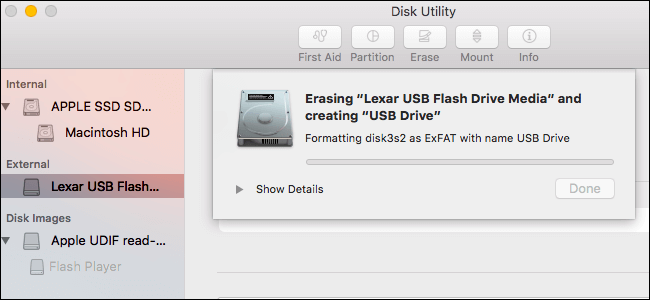 How To Format A USB Drive To FAT32 On Mac