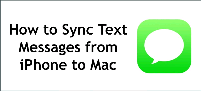 How to Sync iMessage to Mac