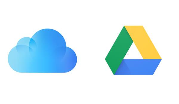 iCloud対Googleドライブ