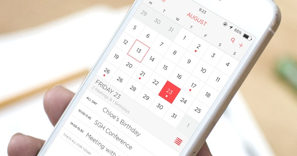 Calendario de iPhone que no se sincroniza con Mac