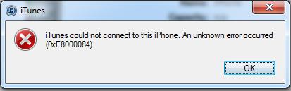 iTunes no pudo conectarse a este iPhone