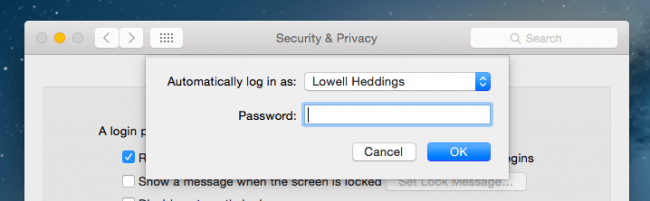 Make This One Change to Turn off Password on Mac