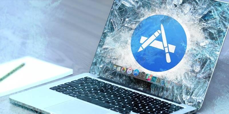 Fixierte Mac-Apps beheben