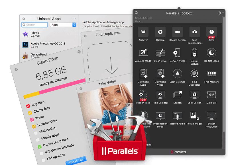 Parallels Toolbox para Mac