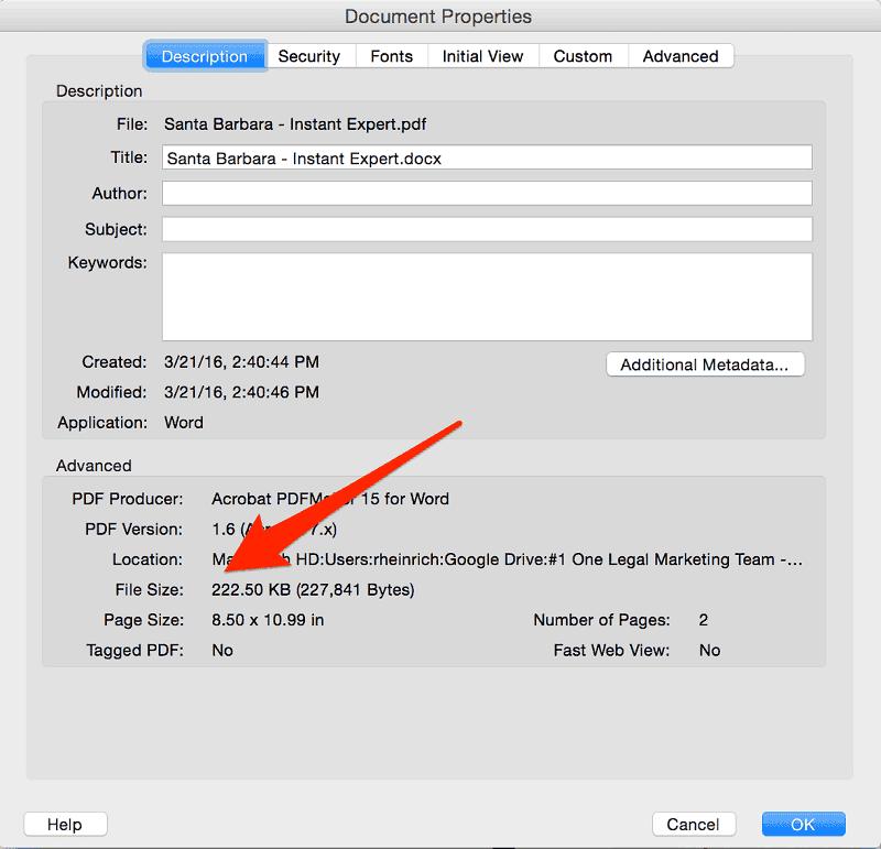 大きなPDFファイルを減らす