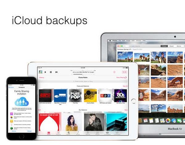 Entfernen Sie iCloud Backups